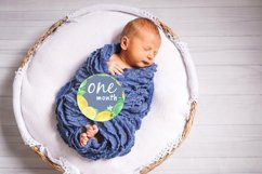 Baby Boy or Girl Monthly Circle Printable Stickers Product Image 3