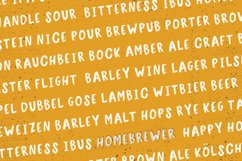 Homebrewer Sans and Outline Font Duo Product Image 5