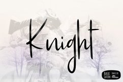 Knight Simple Font Product Image 1