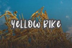 Yellow Bike - an odd handwritten font Product Image 6