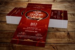 Vintage Party Ticket Template Product Image 1