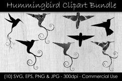 Hummingbird SVG Clipart Bundle Product Image 1