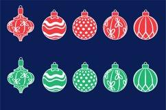Christmas toys, Christmas ornament svg Product Image 3