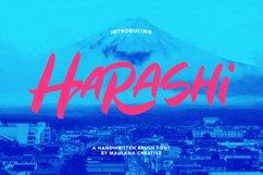 Harashi Handwritten Brush Font Product Image 1
