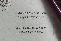 Hand crafted Latin / Greek / Cyrillic Nadira Pro Product Image 3