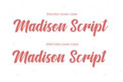 Madison Script Product Image 2