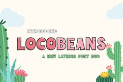 Locobeans Font Duo Product Image 1
