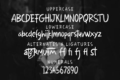 Web Font Jafsketch - Rough Sketches Font Product Image 6