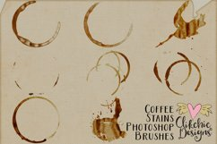 Coffee Stains Photoshop Brushes Product Image 2