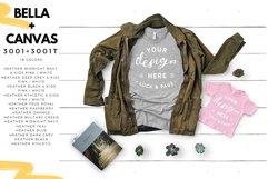 T-Shirt Mockup Mega Bundle Fall Winter Bella Canvas 3001 Product Image 6