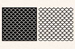 Mermaid Scales SVG | Mermaid Scales for Cameo & Cricut Product Image 3