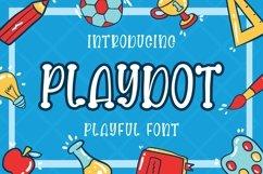 Playdot Playful Font Product Image 1