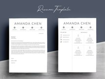Clean Professional Resume Template Word Product Image 7