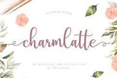 Charmlatte Script Product Image 1