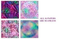 Seamless Mermaid Textures Digital Paper Product Image 2