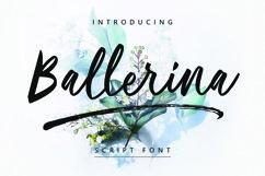 Ballerina| Script Font Product Image 1