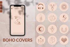 Boho ASMR Instagram Story Covers Product Image 1