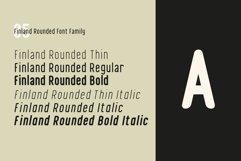 Finland Rounded - Font Family Product Image 6