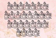 Spring Gnome Monogram Font Product Image 6