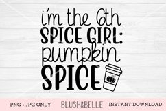 6th Spice Girl, Pumpkin Spice - PNG, JPG Product Image 1