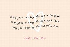 Sunday Sunday - Handwritten Font Family Product Image 5