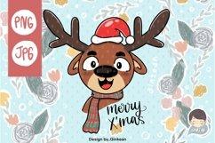Christmas animal png, Merry christma, Christmas png, cutfile Product Image 3