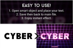 Cyber Text Effects Mockup Product Image 2