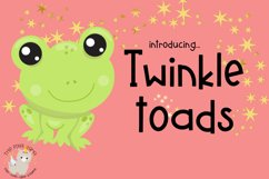 Twinkle Toads Font Product Image 1