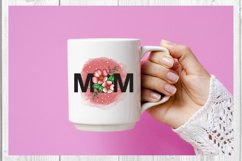 MOM sublimation, Mom Flower Product Image 4