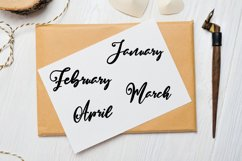 Month Stickers, Bullet Journal Stickers Product Image 5