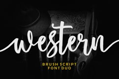 Western Script Font Duo Product Image 1