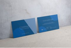 Classic Blue Business Card Product Image 5