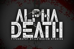 Alpha Death Product Image 1