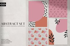 Abstract Shapes & Plants Set Product Image 1