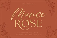 FontDuo | Mance Rose Product Image 1