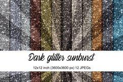 Dark Glitter Sunburst Product Image 1