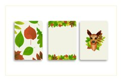 Autumn watercolor style vector collection. Product Image 5