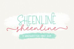 Sheenline Font Duo Product Image 1