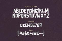 Junkdog Typeface Product Image 3