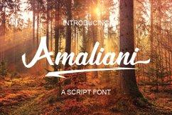 Amaliani Font Product Image 1