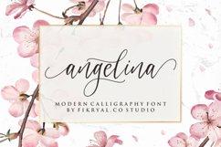 angelina - modern calligraphy font Product Image 1