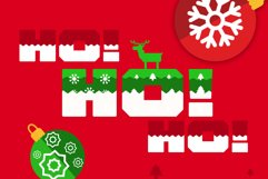 Ogra Clause Layered Christmas Font Product Image 3