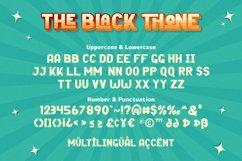 Black Thone - Vintage Display Font Product Image 6