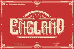 England + Poster vector Product Image 1
