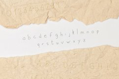 Handwritten Script Font Old Letters Crafting Typeface Product Image 5