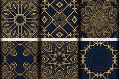 Luxury Mandala Pattern Tiles | Golden arabesque background Product Image 6