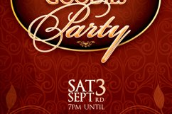 Vintage Party Ticket Template Product Image 6