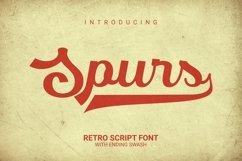 Web Font Spurs Font Product Image 1
