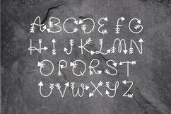 Arrow Monogram A Hand-Lettered Monogram Font Product Image 3