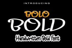 Bolo Bold Product Image 1